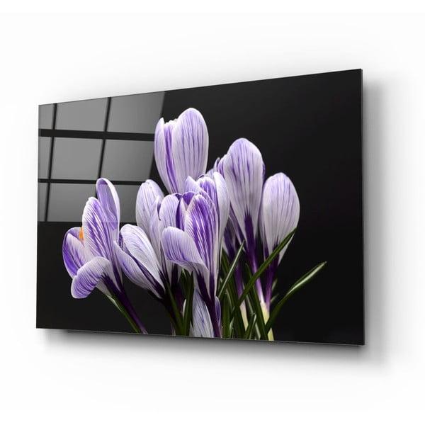 Skleněný obraz Insigne Flowers III.