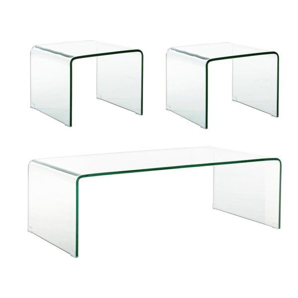 Set 3 stolků Bizzotto Vanity