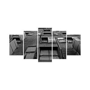 Vícedílný obraz Black&White no. 64, 100x50 cm