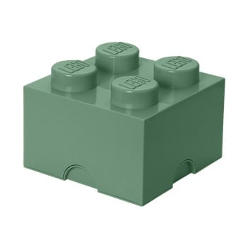 Cutie depozitare LEGO® Mini Box II, verde de la LEGO®