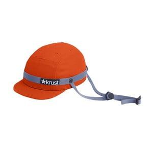 Cyklistická helma Krust Orange/Gray, vel. S