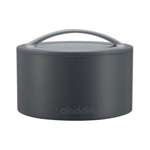 Termobox na svačinu Bento 350 ml, šedý