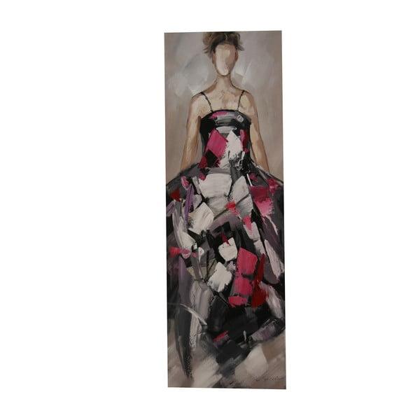 Olejová malba Pin Lady, 50x150 cm