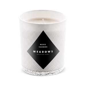 Svíčka s vůní skořice a muškátového oříšku Meadows Mystic Cashmere, doba hoření 60 hodin