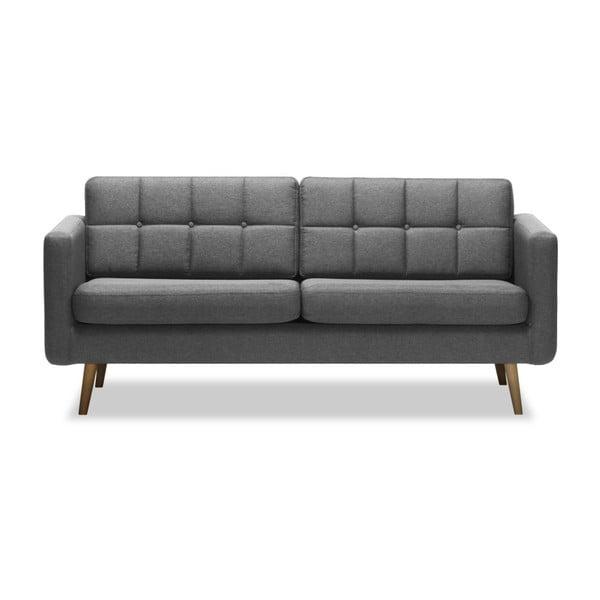 Magnus világosszürke háromszemélyes kanapé - Vivonita
