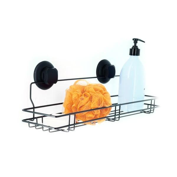 Suport autoadeziv pentru bucătărie Compactor Bestlock Black Kitchen, 45,5 x 12 cm