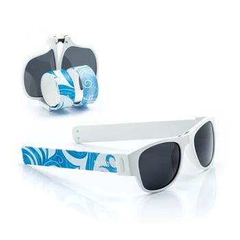 Ochelari de soare pliabili InnovaGoods Sunfold ST3, albastru - alb poza