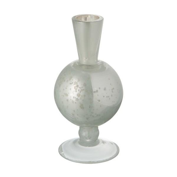 Skleněná antická váza J-Line Nacre White