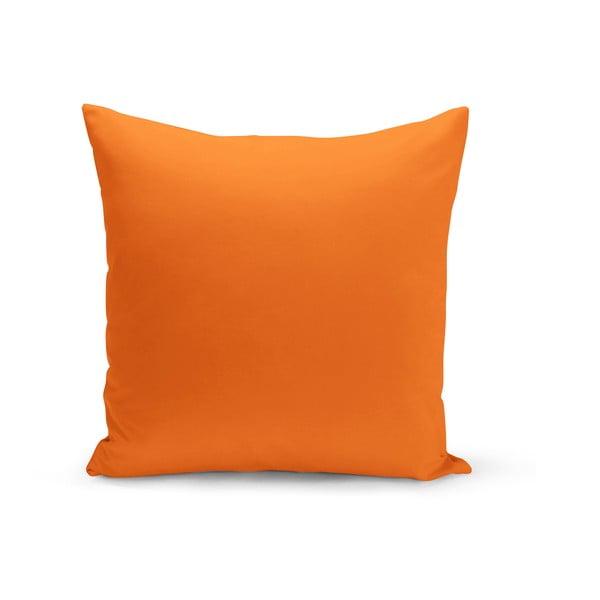 Cihlově oranžový polštář s výplní Lisa, 43 x 43 cm