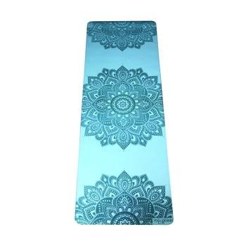 Saltea pentru yoga Yoga Design Lab Mandala Aqua, 5 mm, turcoaz imagine