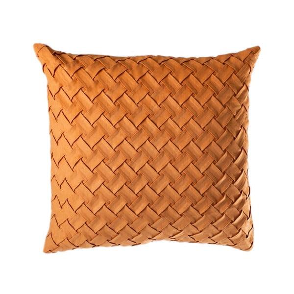 Oranžový polštáŕ JAHU Gama, 45 x 45 cm