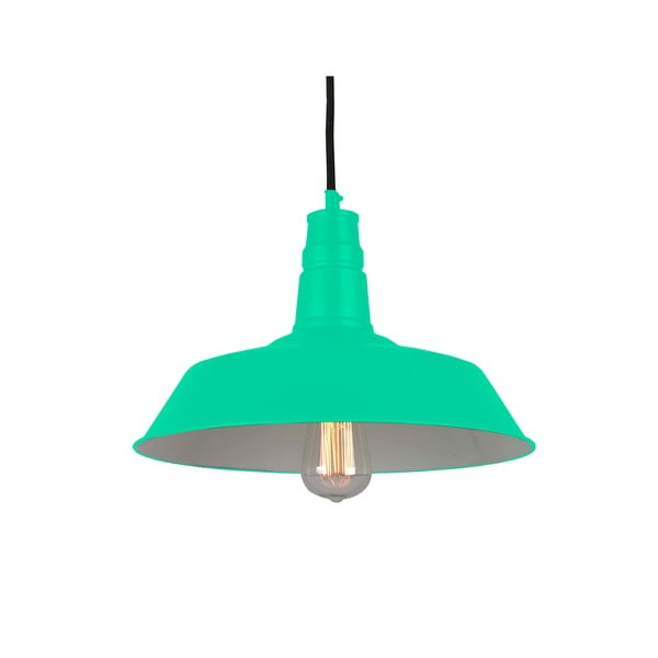 Závěsná lampa Berlin, zelená