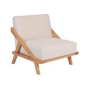 Fotoliu din lemn de stejar Ellenberger design Nordic Space