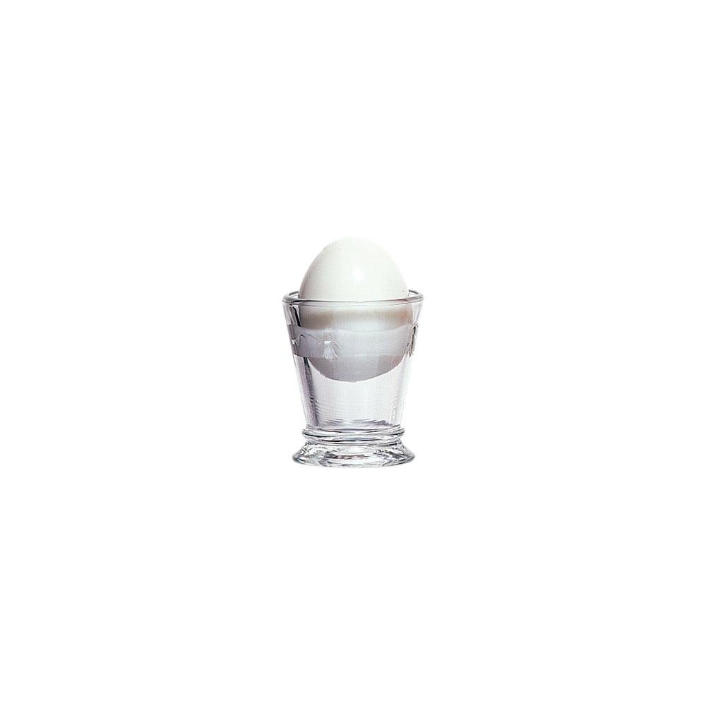 Skleněný stojánek na vajíčka La Rochère Abeille