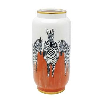 Vază Kare Design Orange Zebras, înălțime 39cm de la Kare Design