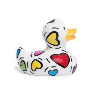 Kachnička do vany Bud Ducks Mini Pop Heart