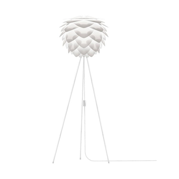 Bílé stínidlo VITA Copenhagen Silvia, Ø50cm