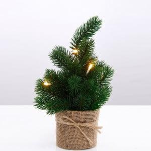 Umělý vánoční stromek s led světly Butlers, výška 30 cm