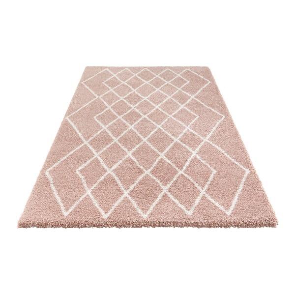Růžový koberec Elle Decor Passion Bron, 80 x 150 cm