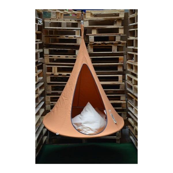 Oranžové závěsné křeslo pro děti Cacoon Bonsai
