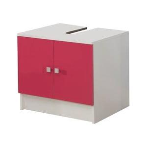 Růžová skříňka pod umyvadlo 13CasaClick