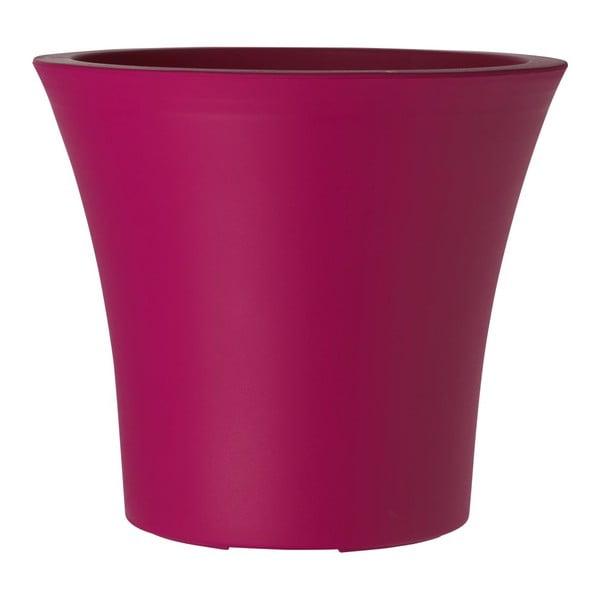 Květináč City Curve Pink, 30x27 cm