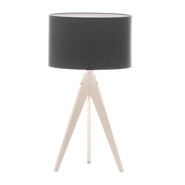 Stolní lampa Artist Poly Grey/White, 40x33 cm