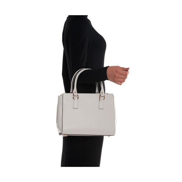 Kožená kabelka Mangotti 3040, béžová