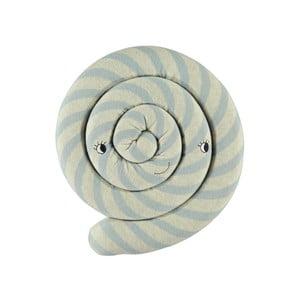 Modrý dětský polštář z organické bavlny OYOY Lollipop, ⌀ 30 cm