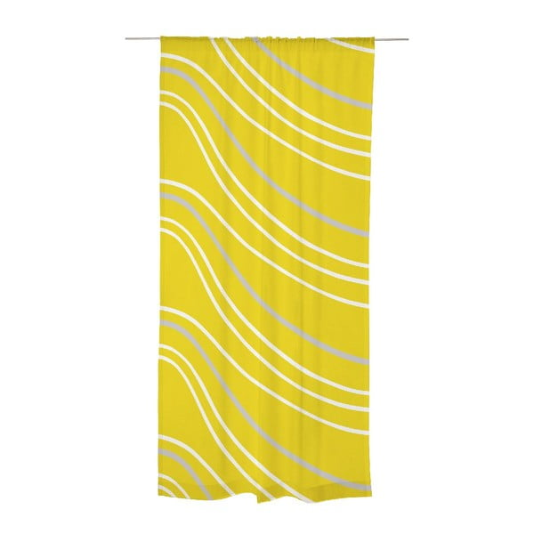 Závěs Sade Yellow, 140x240 cm