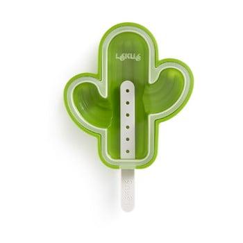 Formă din silicon pentru înghețată în formă de cactus Lékué, verde