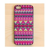 Obal na iPhone 4/4S, Aztec Hot Pink