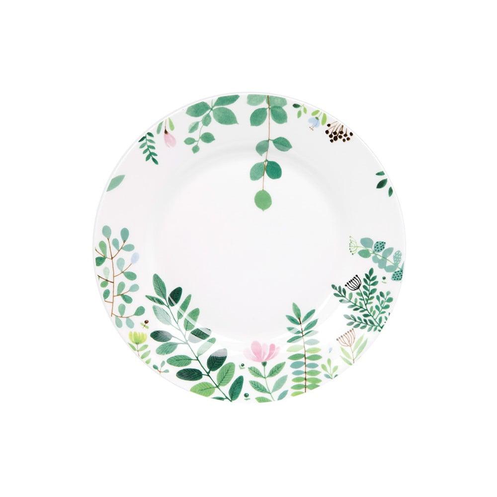 Dezertní talíř z kostního porcelánu Ashdene Tilly's Garden, ⌀19cm
