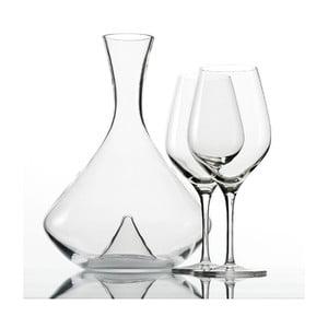Set 2 sklenic a dekantéru na víno Exquisit