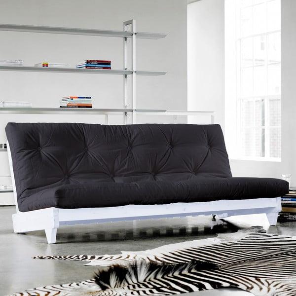 Canapea extensibilă Karup Fresh White/Gray
