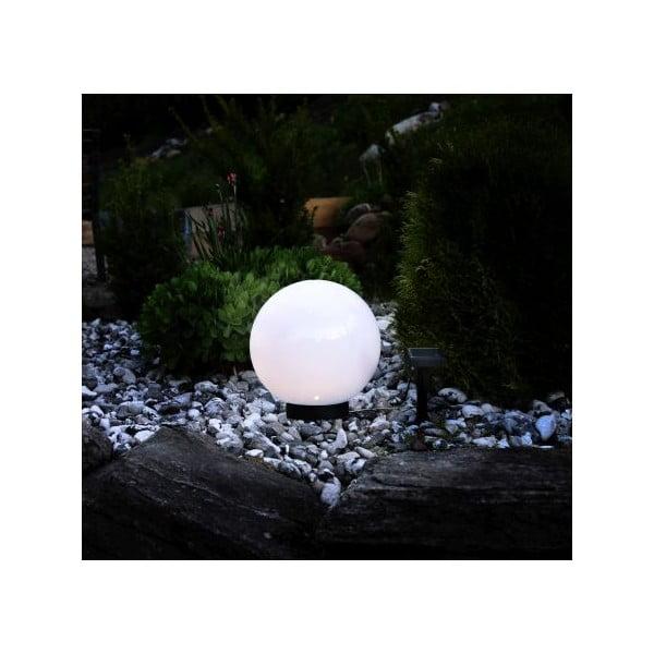 Venkovní solární světlo Best Season Globe, průměr 25 cm