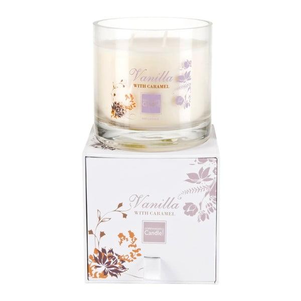 Aroma svíčka Vanilla & Carame Medium, doba hoření 50 hodin