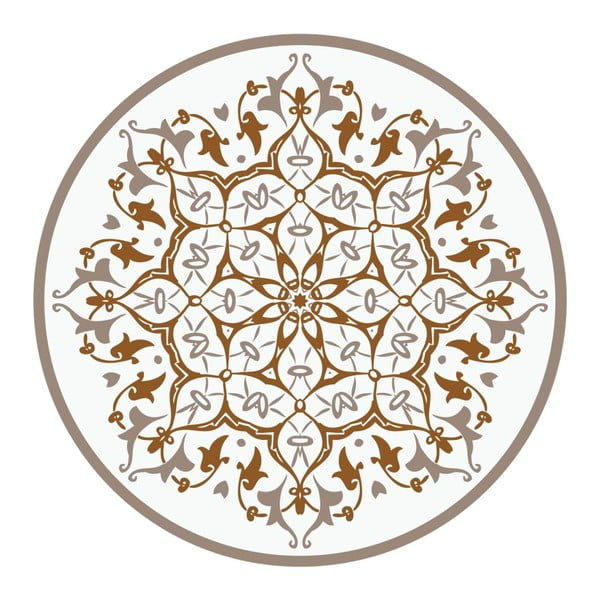 Samolepky Mandala Light Brown