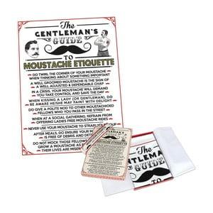 Malý ručník v dárkovém balení Rex London Moustache, 63x46cm