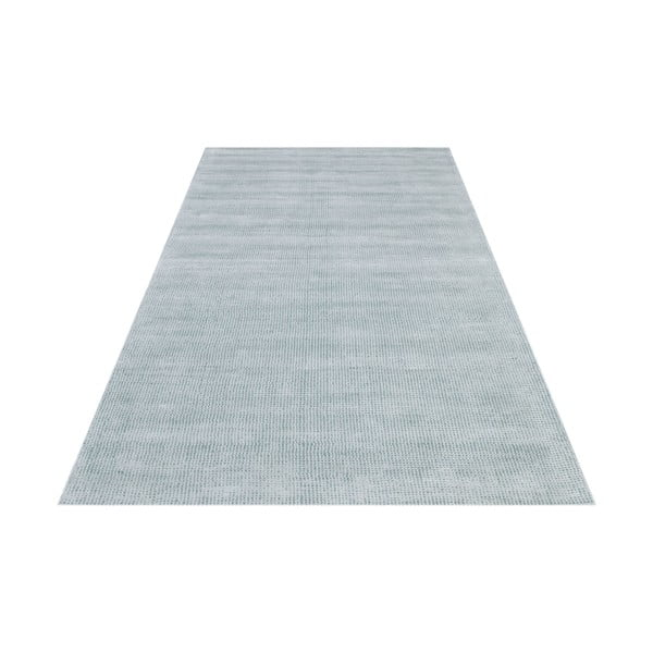 Ručně vázaný světle modrý koberec Spike, 160x230cm