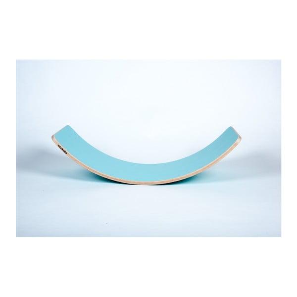Pastelově modré bukové houpací prkno Utukutu, délka82cm
