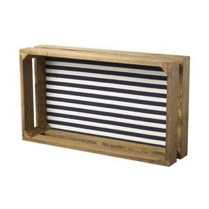 Přepravka Blue Stripes