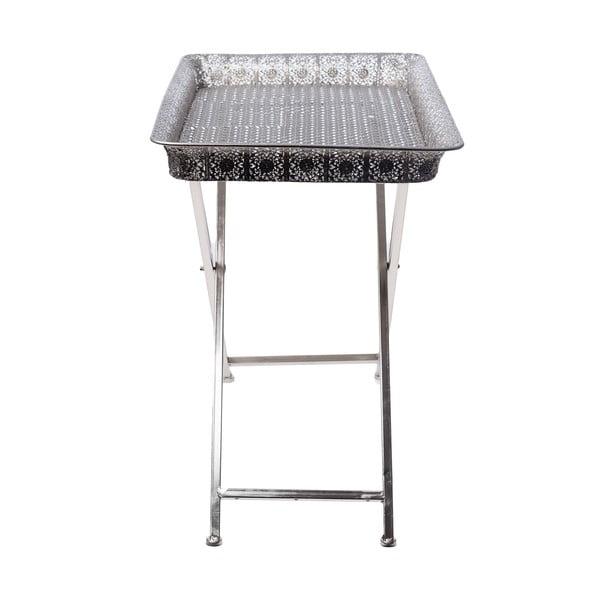 Odkládací stolek s tácem Silver Tray