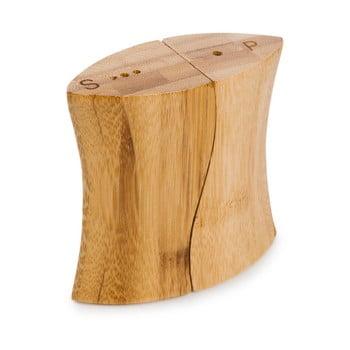 Solniță și piperniță din lemn de bambus Bambum Nuuna