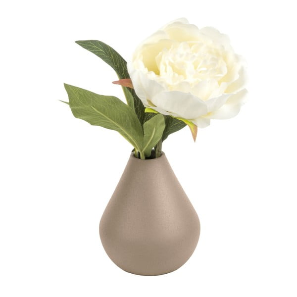 Béžová váza PT LIVING Nimble Cone, výška10cm