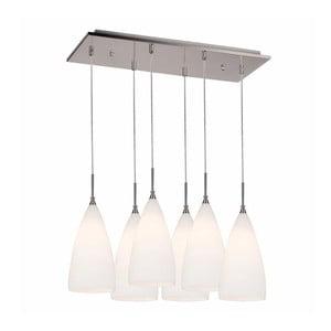 Světlé závěsné svítidlo se 6 žárovkami Asus
