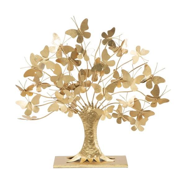 Decorațiune Mauro Ferretti Tree of Life, înălțime 60 cm, auriu