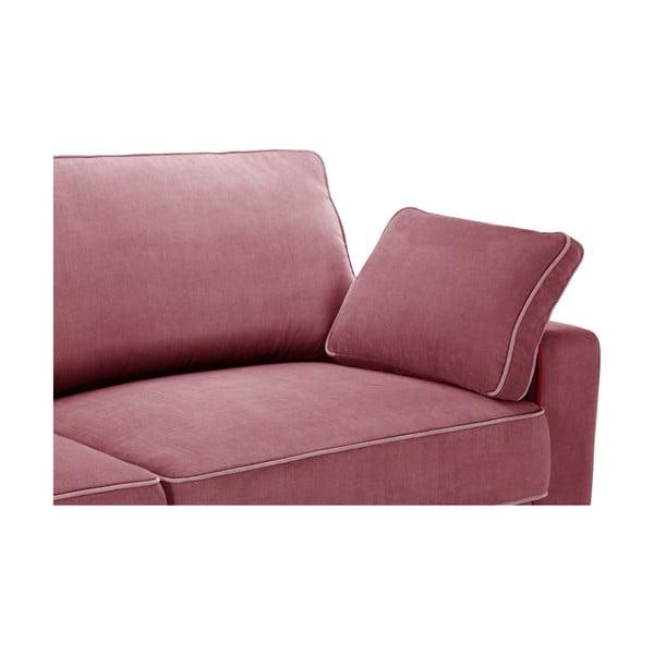 Dvoudílná sedací souprava Jalouse Maison Serena, starorůžová