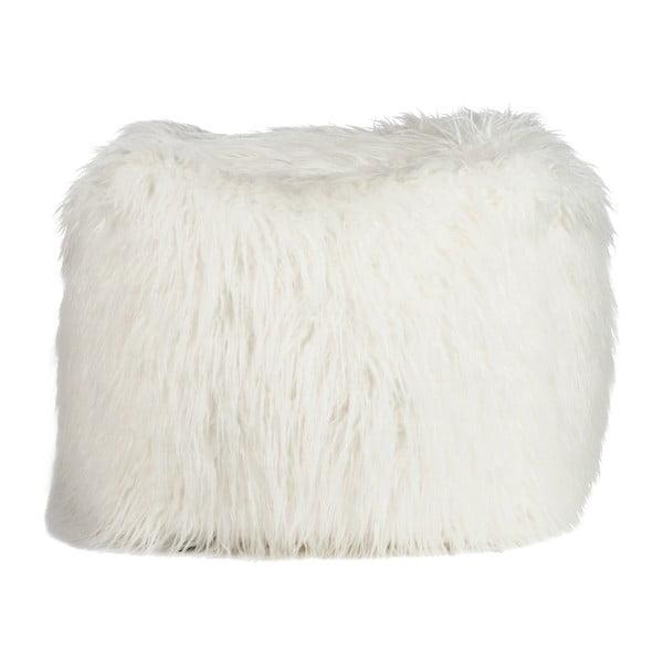 Béžový sedací pytel J-Line Bean Bag Fur