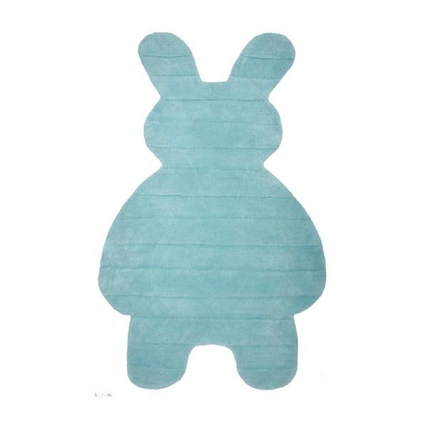 Dětský koberec Bunny Blue, 85x140 cm